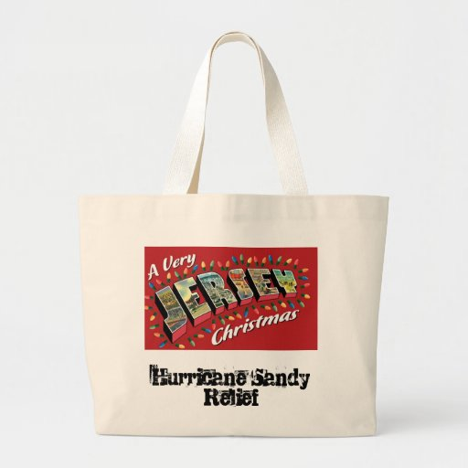 Very Jersey Xmas Tote Jumbo Tote Bag