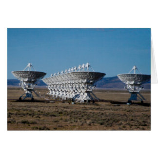 Very Large Array 7511 Card