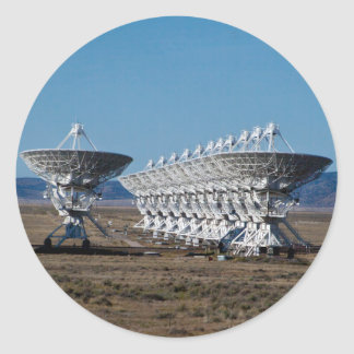 Very Large Array 7511 Classic Round Sticker