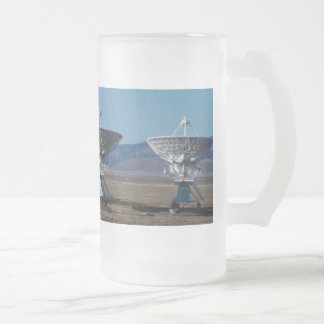 Very Large Array 7511 Frosted Glass Beer Mug