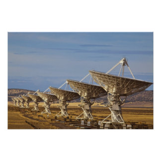 Very Large Array aka National Radio Astronomy Poster