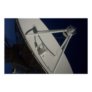 Very Large Array Dish Poster