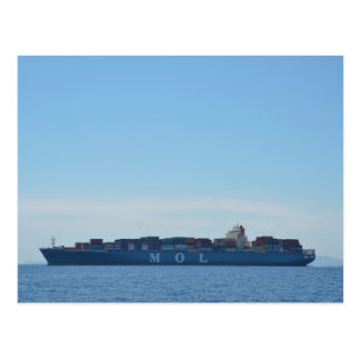 Very Large Container Ship Postcard