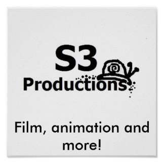 very large logo, Film, animation and more! Poster