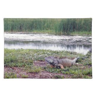 Very Large Wild Iguana Lizard Placemat