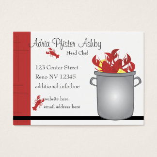 Very Lobster Business Card