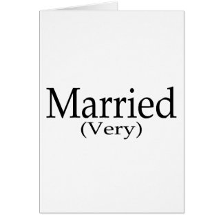 Very Married Card