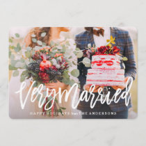 Very Married Holiday Card