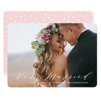 Very Married | Holiday Photo Card