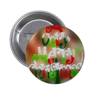 very merry christmas 2 inch round button
