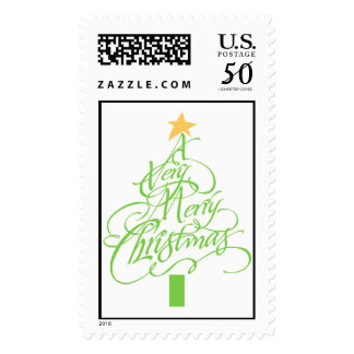 Very Merry Christmas Postage