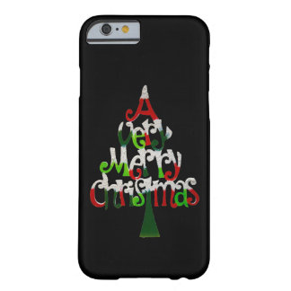Very Merry Christmas Tree Barely There iPhone 6 Case