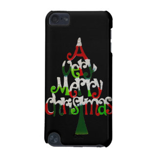 Very Merry Christmas Tree iPod Touch 5G Cases