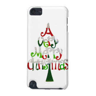 Very Merry Christmas Tree iPod Touch (5th Generation) Cover