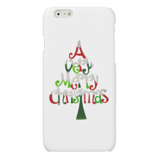 Very Merry Christmas Tree Matte iPhone 6 Case