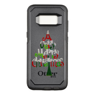 Very Merry Christmas Tree OtterBox Commuter Samsung Galaxy S8 Case
