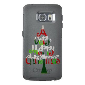 Very Merry Christmas Tree OtterBox Samsung Galaxy S6 Edge Case