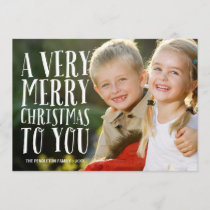 Very Merry | Holiday Photo Card
