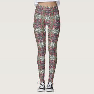 Very Merry Holly Berry Christmas Leggings 4