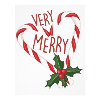 Very Merry Letterhead