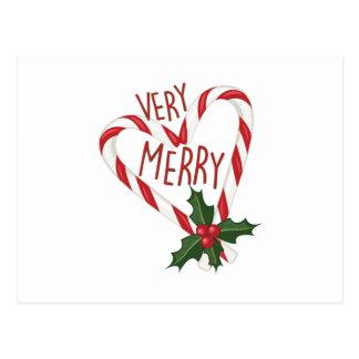 Very Merry Postcard