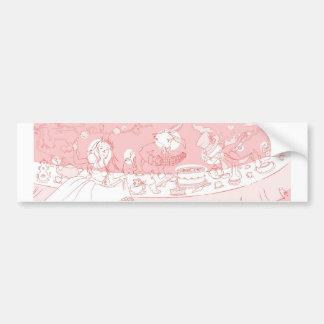 Very Merry Unbirthday Car Bumper Sticker