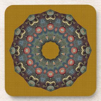 Very Nice Textured Flower Coaster