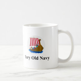 Very Old Navy Coffee Mug