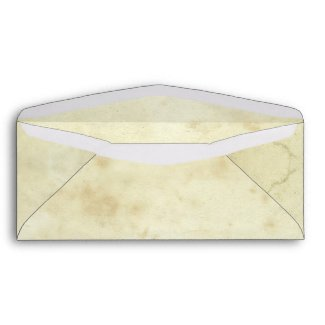 very old paper envelope design