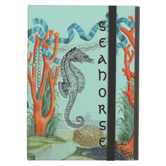 Very Old Seahorse Beach Scene iPad Air Cover