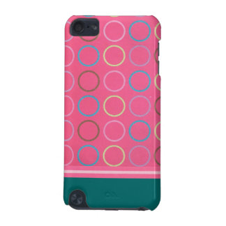 Very Pink Circles iPod Touch Case