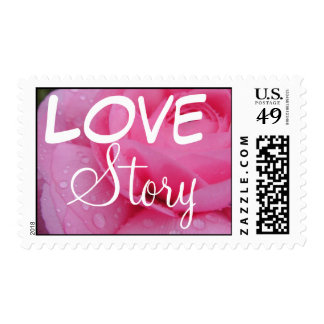 Very Pink Postage Stamp