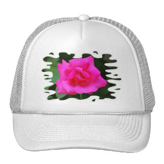 Very Pink Rose hat