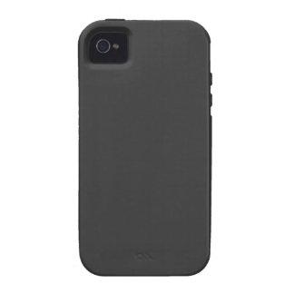 Very Plain Dark Grey>4s Vibe Universal Case iPhone 4 Cover