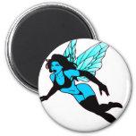 Very Pretty Blue Fairie Magnet