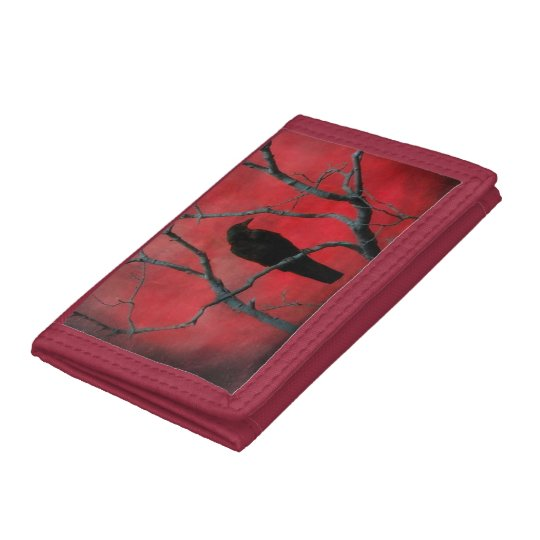Very Red Trifold Wallets