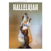 Very religious holiday card