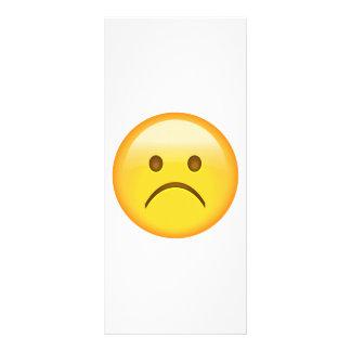 Very sad - Emoji Rack Card