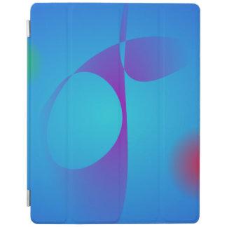Very Simple Aqua Blue Abstract Art iPad Cover
