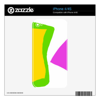 Very Simple without Stress Gives You Dreams iPhone 4S Skins