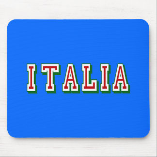 Very Simple yet cool Italia logo of Italy Mouse Pad