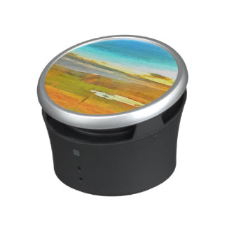Very small lake in the dry season bluetooth speaker