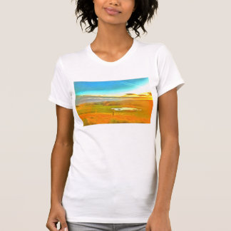 Very small lake in the dry season T-Shirt