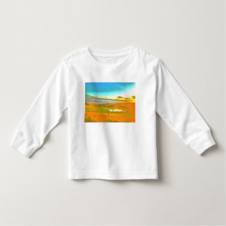 Very small lake in the dry season toddler t-shirt