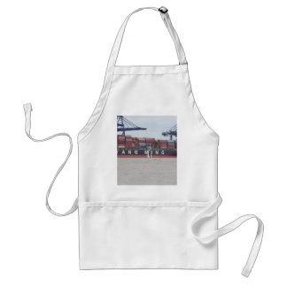 Very Small Yacht Very Large Ship! Adult Apron