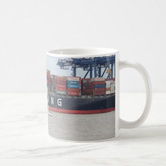Very Small Yacht Very Large Ship! Coffee Mug