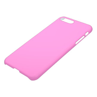 Very soft baby pink glossy background blank color iPhone 7 plus case