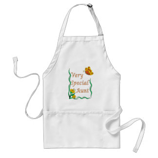 Very Special Aunt Butterfly Aprons