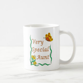 Very Special Aunt Butterfly Classic White Coffee Mug