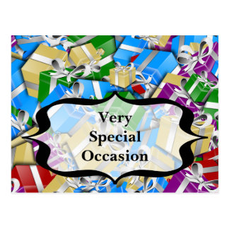 Very Special Gifts for Very Special Occassions Postcard